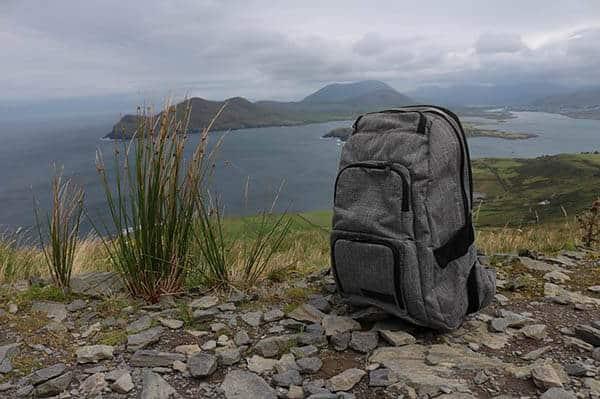 trekking vs hiking - backpack