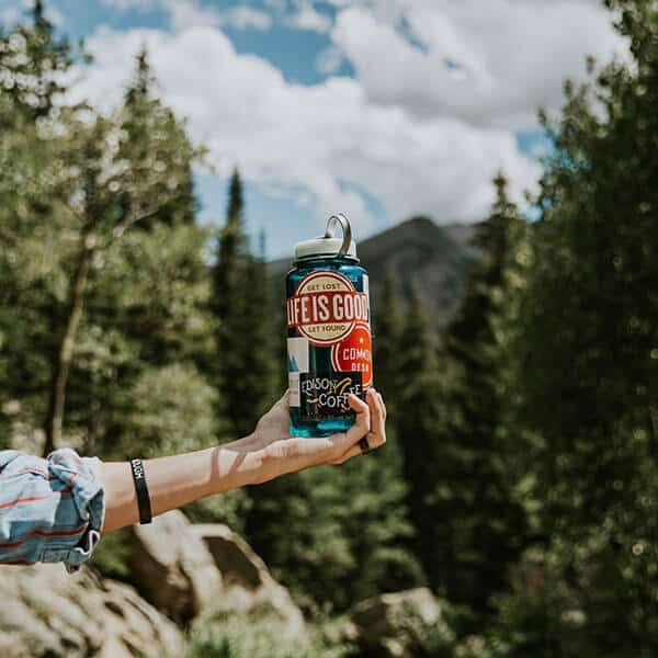 hiking mistakes - not enough water