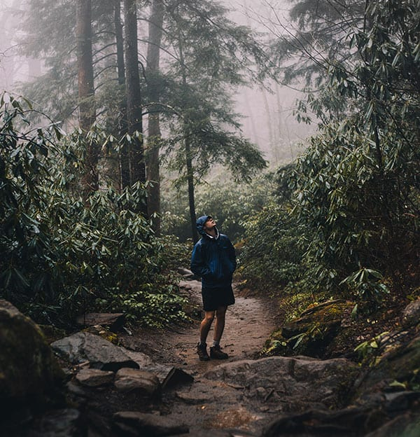 new hiker mistakes - not checking weather