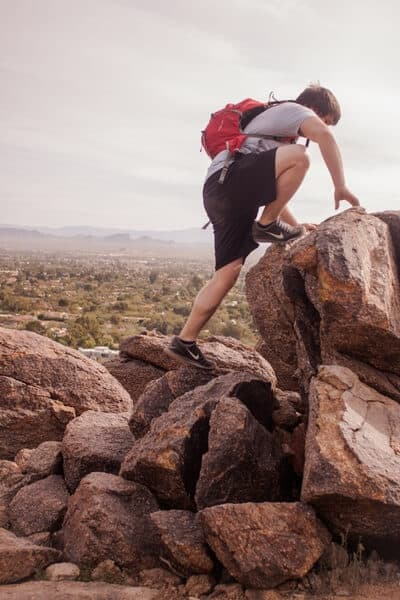 hiking for fat loss