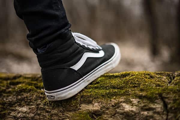 hiking mistakes - wearing the wrong shoes