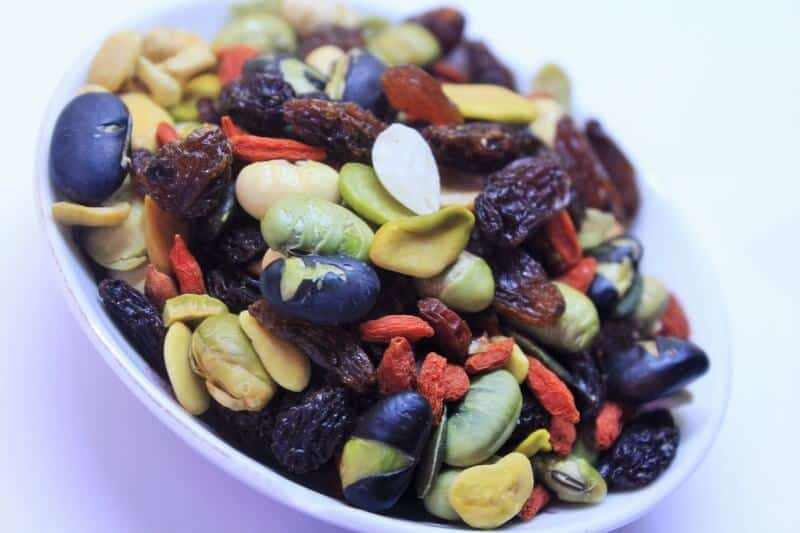 hiking snack - trail mix