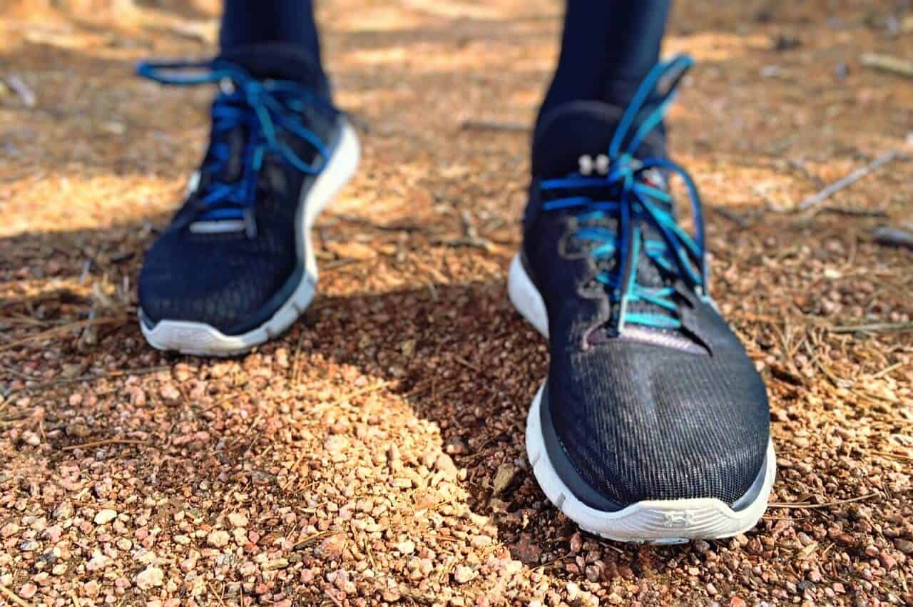 are running shoes ok for hiking?